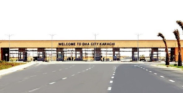 dha city main gate